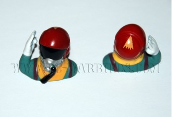 Jet Pilot 1/10 Scale - Red w Hand