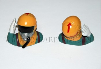 Jet Pilot 1/10 Scale - Yellow w Hand