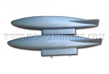 F-86 / Mig-15 Drop Tank (silver)