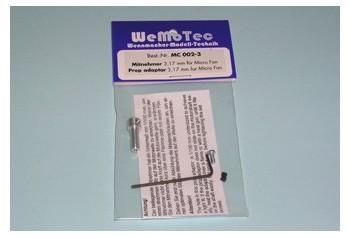 Micro Fan Adaptor (3.00mm)