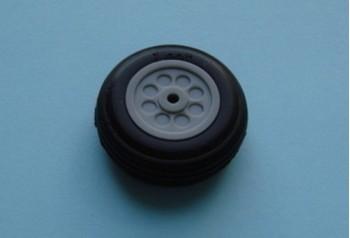 1'' Rubber Wheel (Pair)