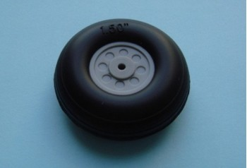 1.5'' Rubber Wheel (Pair)