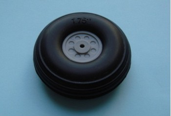 1.75'' Rubber Wheel (Pair)