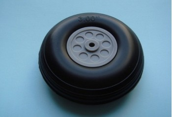 3'' Rubber Wheel (Pair)