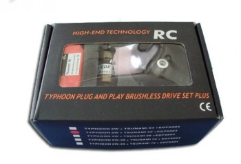 Typhoon EDF 3W Drive set Plus