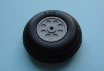 2'' Rubber Wheel (Pair)