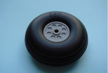 2.5'' Rubber Wheel (Pair)